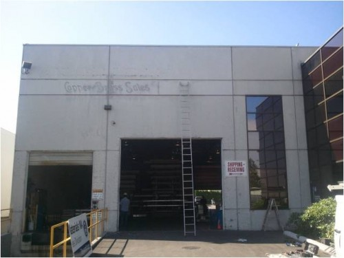 Commercial Exterior Before Painting